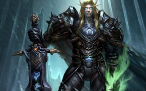 Picture armor, wow, world of warcraft, blood elf, blood elf, death knight, dead knight