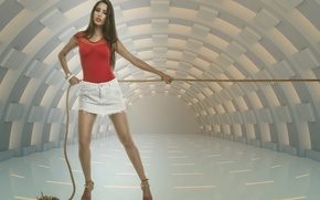 Picture Model, Andresa Alves, Force on String