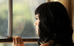 Picture look, hair, window, Katy Perry