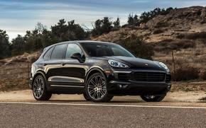 Picture Porsche, Porsche, Cayenne, Cayenne, 958, US-spec, 2014