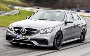 Picture auto, Mercedes, track, Mercedes, E class