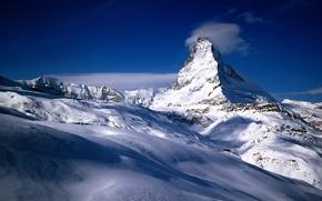Wallpaper Switzerland, snow, mountains