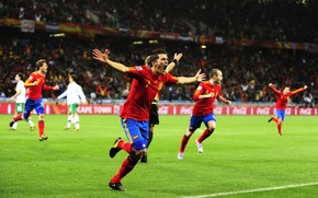 Picture 2010, fifa world cup, spain, victory, football, football wallpapers, goal, the champions, el equipo, celebration, …