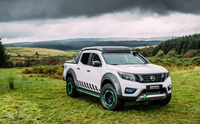 Picture Concept, White, Nissan, Car, Navara, 2016, EnGuard, Nissan Navara EnGuard Concept