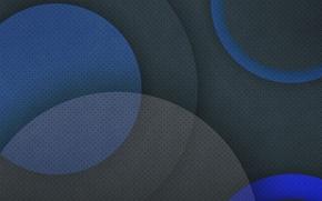 Picture circles, blue, background, black, texture