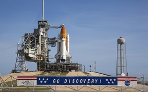 Picture Shuttle, Discovery, spaceport, launch pad
