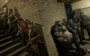 Picture zombies, fat, survivors, Dead, Left