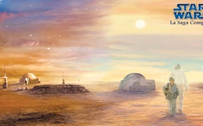 Wallpaper Star Wars, Star wars, Tatooine, skywalker