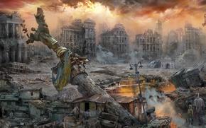 Picture the city, revolution, Kiev