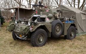 Picture war, UK, Dingo, armored car, period, intelligence, Daimler Mk., dingo, The second world