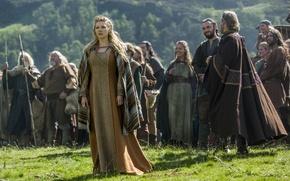 Picture the series, drama, series, the Vikings, history, historical, historical, Katheryn Winnick, vikings, Lagertha, Katherine Winnick, …