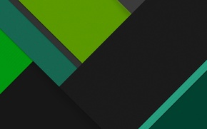 Picture Android, Green, Black, Line, Abstractions