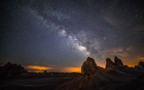Picture space, stars, nature, the milky way