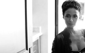 Picture Look, Black and white, Emmanuelle, Chriqui