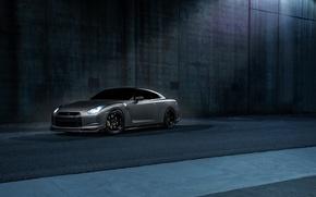 Picture Imperial, Dark, GTR, Japan, Nissan, Car, California, Grey, Best, R35, Sport, Works