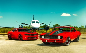 Picture Chevrolet, 1969, Camaro, Red, Miami, 2011, Tuning, Heat, SS Customs