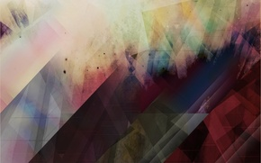 Picture abstraction, colorful, Kaleidoskop