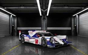 Picture Wallpaper, Toyota, The car, LMP1, 24 Hours of Le Mans, Le Mans, WEC, TS040 Hybrid
