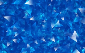 Wallpaper white, line, blue, triangles, sharp