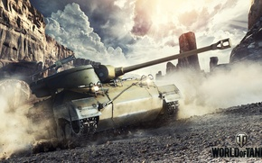 Picture Game, USA, Games, Art, World of Tanks, Wargaming Net, FuriousGFX, M18 Hellcat