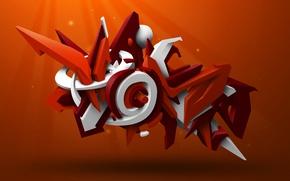 Picture rendering, graffiti, Graffiti, photoshop, wildstyle
