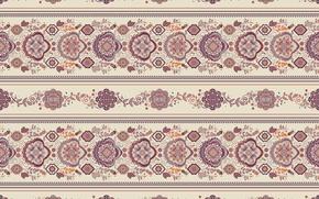 Wallpaper beige, ornament, pattern
