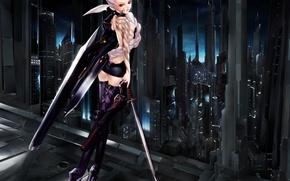 Picture sword, The moon, Maria, tech girl, Tenshi, Hakua, Ugetsu, Bakuretsu