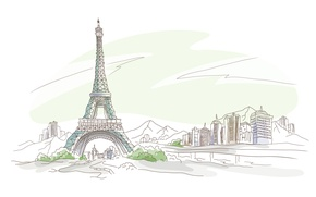 Wallpaper Paris, eyfeleva tower, France, France