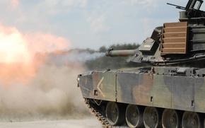 Picture tank, armor, Abrams, Abrams, M1A2
