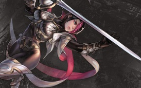Picture sword, LoL, fiora, leauge of legends