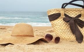 Picture sand, sea, beach, summer, nature