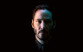 Picture portrait, actor, Keanu Reeves