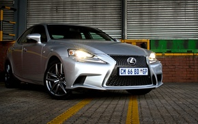 Picture Lexus, light, silver, front, 350, F-Sport