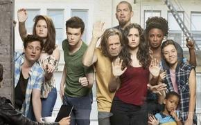 Picture Emmy Rossum, Jeremy Allen White, Ethan Cutkosky, Cameron Monaghan, Shameless, Emma Kenny., William Macy