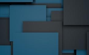 Picture blue, black, wallpaper, design, material