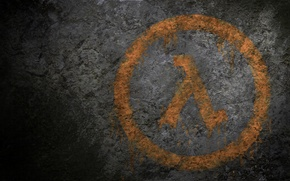 Wallpaper Logo, Game, Lambda, Half-Life, Spray, Half-Life, grafiti, logo