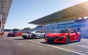 Wallpaper Honda, Honda, Acura, Acura, NSX