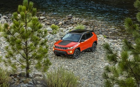 Picture Tuning, Coast, Car, Compass, Jeep, Trailhawk, 2017