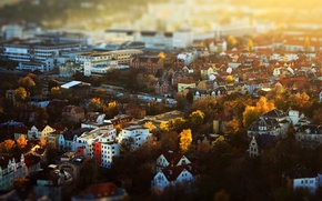 Picture autumn, the city, building, home, Germany, panorama, Germany, Ian, Thuringia, Jena