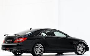 Picture Black, Sedan, Mercedes, Brabus, Coupe, 800, Rocket