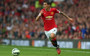 Picture manchester united, old trafford, angel di maria