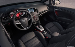 Picture devices, the wheel, salon, Buick Cascada, seat.