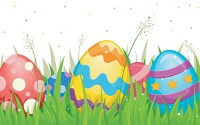 Picture background, holiday, art, Easter, eggs