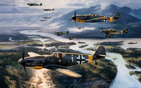 Picture me-109, Bf-109, Messer Schmit