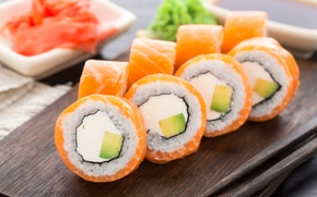 Picture Sushi, Food, Seafood, Rolls