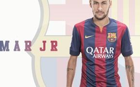 Picture wallpaper, sport, football, player, FC Barcelona, Neymar JR