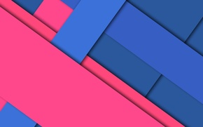 Picture line, blue, geometry, design, color, raspberry, material