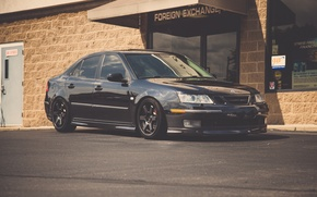 Picture black, tuning, You can, black, Aero, Saab, 9-3 aero