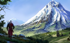 Picture The Witcher, Geralt, CD Projekt RED, The Witcher 3: Wild Hunt, Geralt, The Witcher 3: …