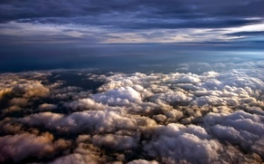 Picture the sky, clouds, up